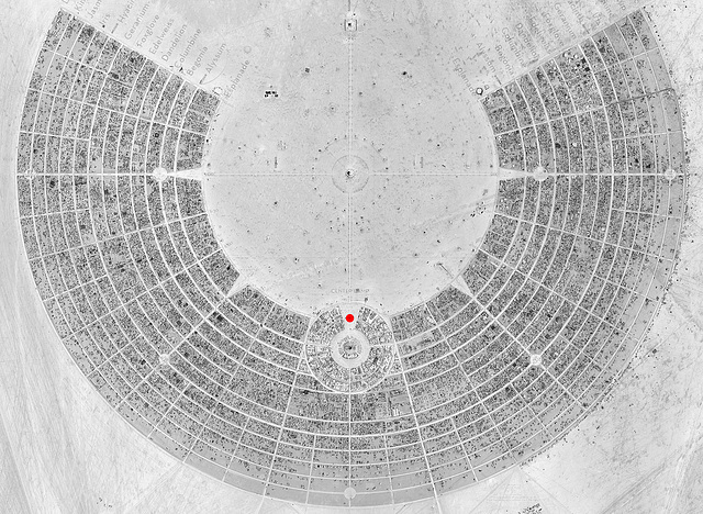 6 O'Clock Keyhole Location Map
