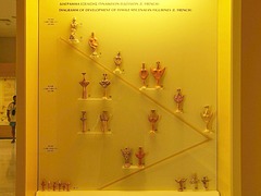 PICT18918ac Female Mycenean Figures Evolution from 1400 B.C. to 1050 B.C.
