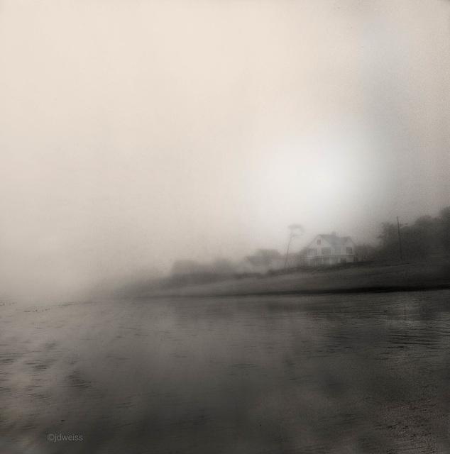 stormy  coastal maine