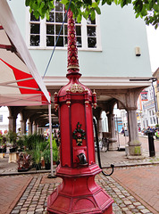 faversham town pump, kent