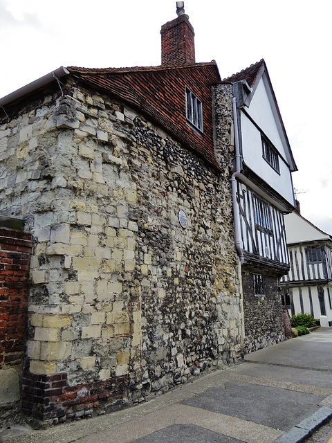 abbey gatehouse and arden's house, faversham, kent