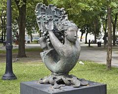 """L'élan"" – Cabot Square, Saint Catherine Street at Atwater, Montréal, Québec"
