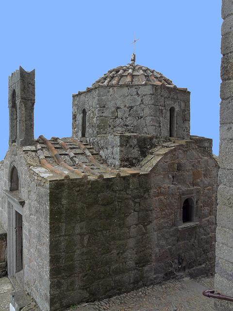 Byzantine Church at the Moastery of Saint John the Theologian