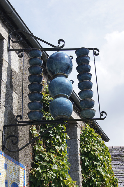 Enseigne poterie Bretagne