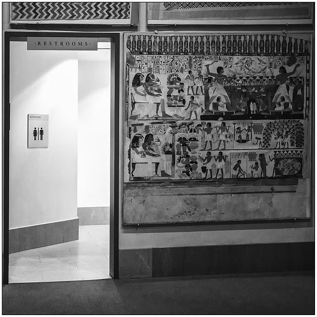 Hieroglyphs.