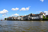 View of Dordrecht from the River Oude Maas