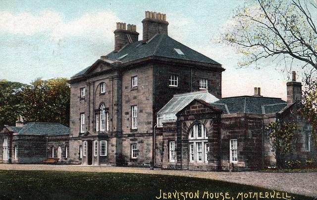 Jerviston House, Lanarkshire (Demolished)