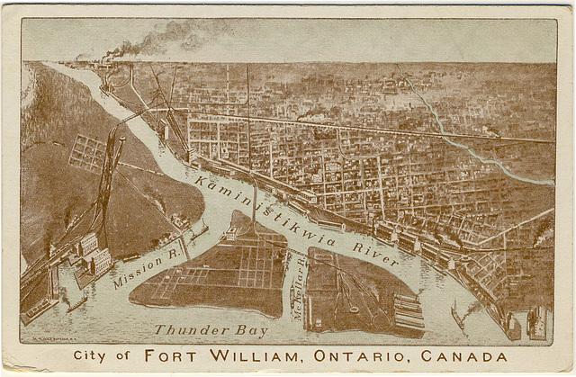 City of Fort William Ontario, Canada