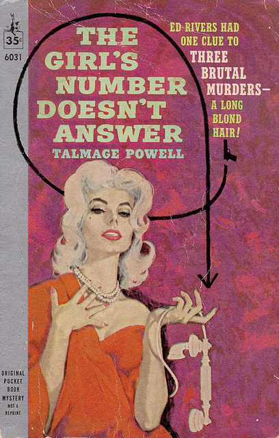 Talmage Powell - The Girl's Number Doesn't Answer