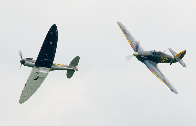 Spitfire Hurricane break