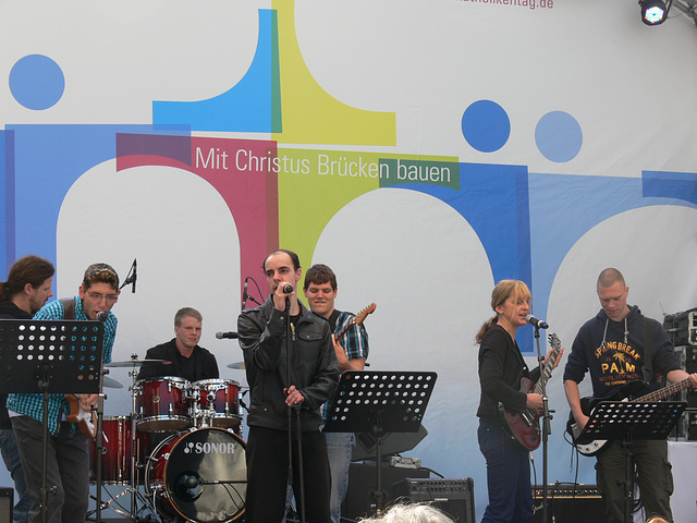 Band am Neupfarrplatz