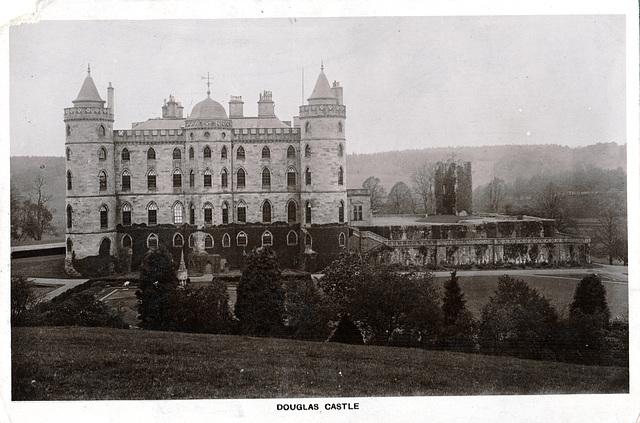 Douglas Castle Lanarkshire (Demolished 1938)