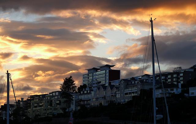 Night Falls on Torquay