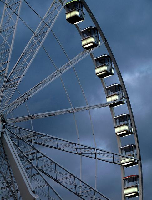 Nocturnal Ferris Wheel