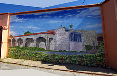 South Of The Border Mural (1)
