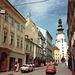1994 centre de bratislava rue où se trouvait marchand de livresanciens