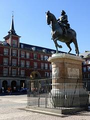 Felipe III - Plaza Major - Madrid