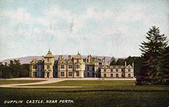 Dupplin Castle, Perthshire (Demolished)