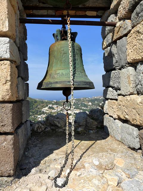 Big Bell at Pandeli Castle