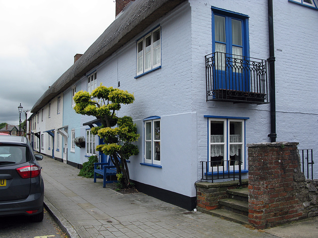 Thatched cottages, Langstone High Street
