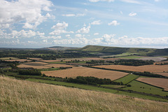 The view from Mount Caburn