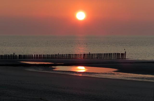 Sunset auf Wangerooge