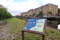 Speirs wharf on the forth Clyde canal, Glasgow