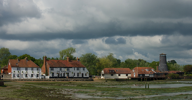The Old Mill & The Royal Oak, Langstone Harbour