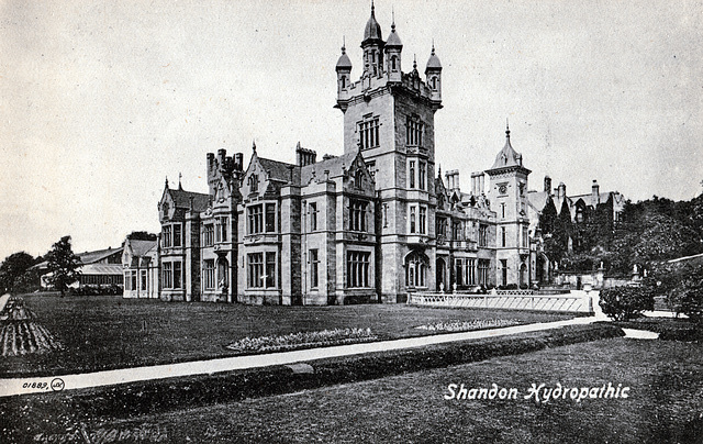 West Shandon House , Argyll and Bute, Scotland (Demolished 1956)
