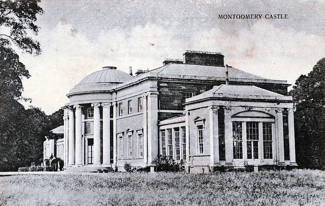 Montgomery House, Ayrshire (Demolished 1969)