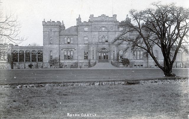 Rossie Castle, Angus (Demolished 1949)