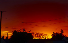 Red Sky at Night, Photographer's Delight