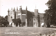 Crowe Hall, Stutton, Suffolk, From an Edwardian postcard
