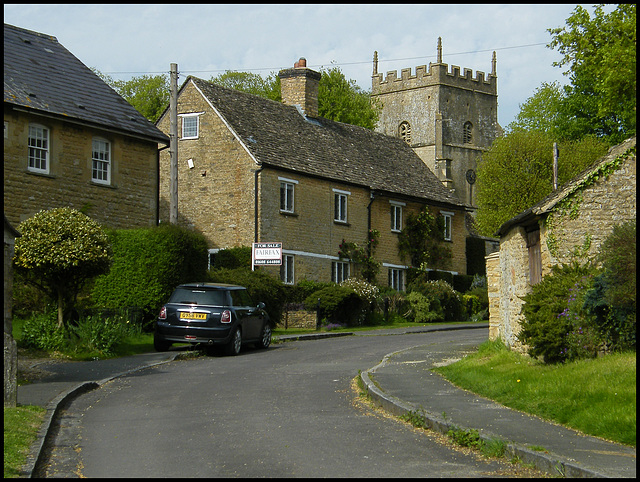 Enstone village street