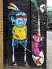 Blue Man & Pink Monkey