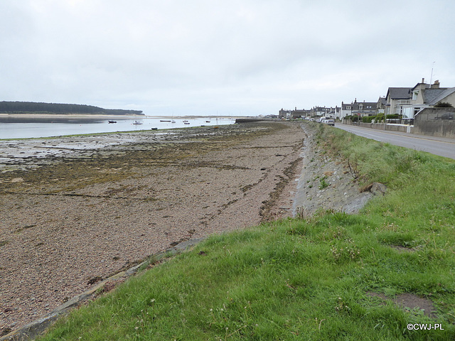 Findhorn at Low Tide