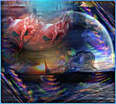 Derrière la musique .................le songe .........Dans la couleur....les autres couleurs