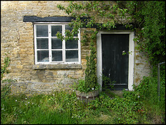 forlorn cottage door