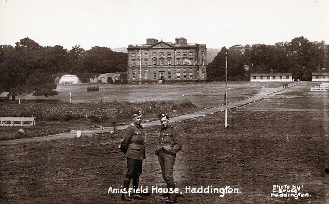 Amisfield House, Haddington, Lothian (Demolished)