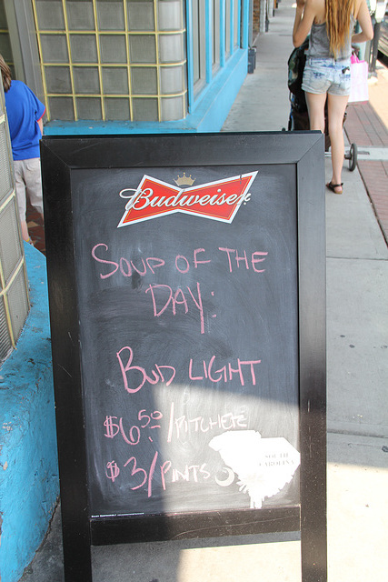 Soup of the Day, Bud Light?!?