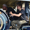 Dordt in Stoom 2014 – Steering the traction engine round the bend