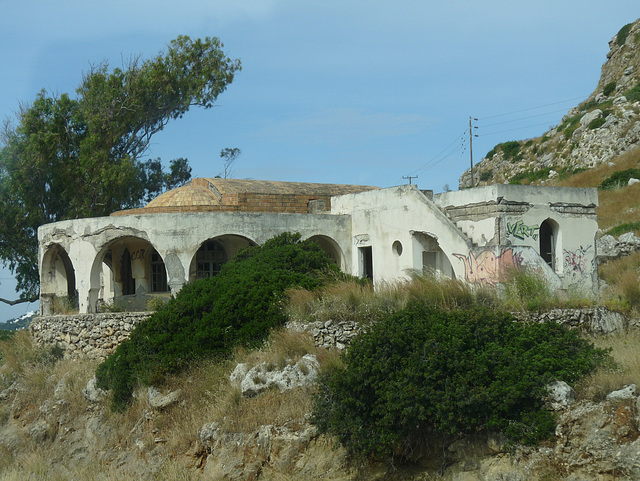 An Unrestored Part of Kallithea Therme