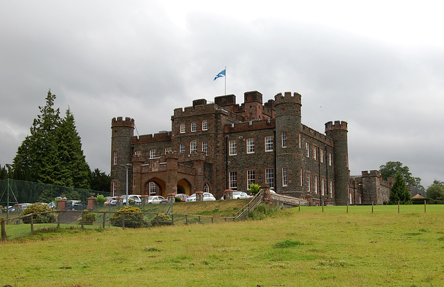 Stobo Castle, Stobo, Borders, Scotland