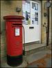 Enstone pillar box