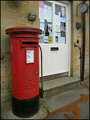Enstone pillar box