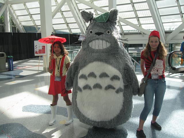 Totoro cosplay, Anime Expo 2014