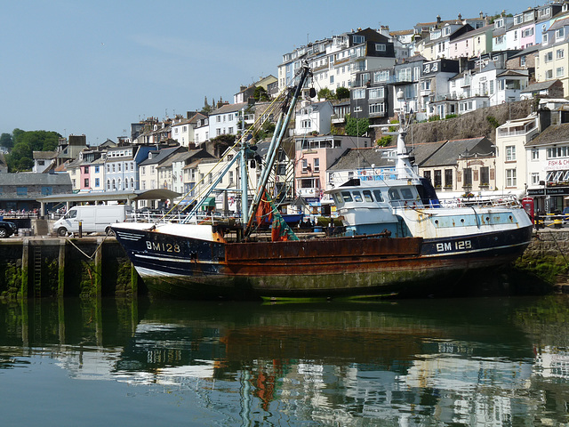 Brixham- Harbour Reflections