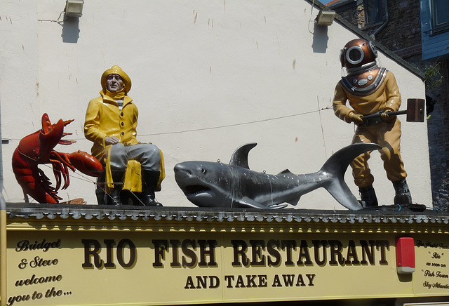 Brixham- Rio Fish Restaurant
