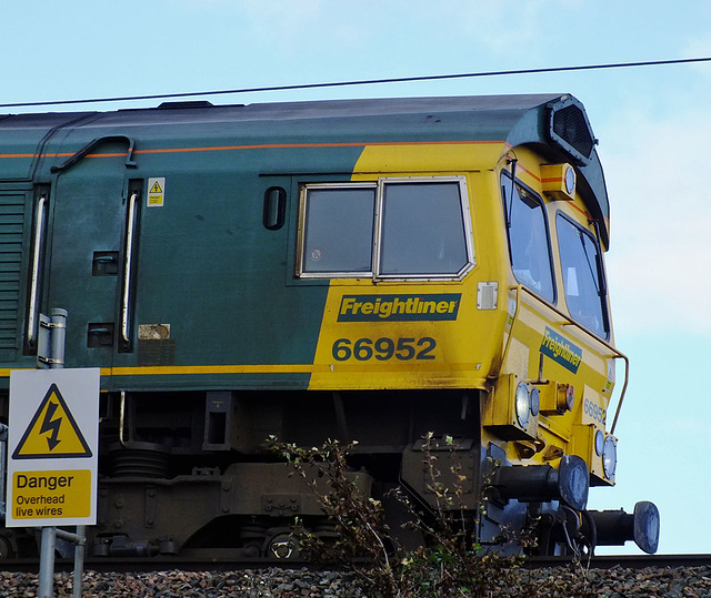 66952 Waiting In Siding @ Gretna Junction For Express to Pass