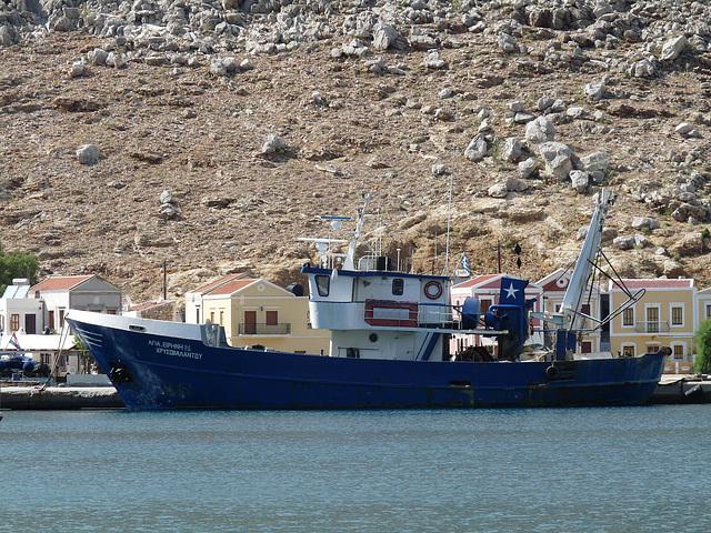 Pedi Harbour- Fishing Boat 'Agia Irini'